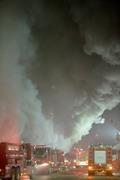 '연기 자욱한 불류센터'