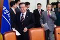 비대위 회의 참석하는 새정치민주연합 지도부