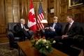 [사진]캐나다 총리 예방한 존 케리 국무
