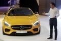 [사진]F1 드라이버 펠리페 마사, 벤츠 새 모델 소개