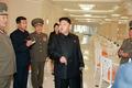 북한 김정은, 리모델링 마친 군인식당 현지지도