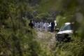 [사진]멕시코, 대학생 실종 관련 마약조직원 4명 체포