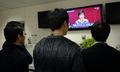 박 대통령 시정연설 지켜보는 공무원들