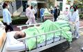 경찰병원 질산 유출, 환자 대피