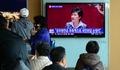 박근혜 대통령 시정연설 시청하는 시민들