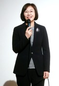 제1회 가톨릭영화제 개막선언하는 조혜정 조직위원장