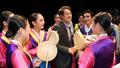 북한이탈주민돕기 자선공연 참석한 조희연