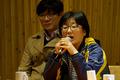 시민간담회 참석한 홍영미씨