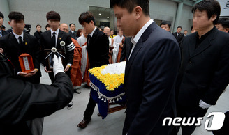 세월호 295번째 희생자 황지현 양 발인