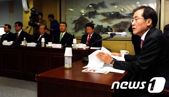 홍준표 경남지사-진주 與 의원 간 '집안싸움' 격화