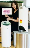 LG, 디자인과 사용편의성 강화 '알프스' 공기청정기 선보여