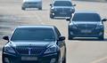 이병철 회장 추모식 '선영으로 들어가는 차량들'