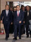 정홍원 총리, 국민안전처 방문