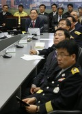 국민안전처 방문한 정홍원 총리