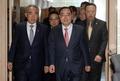 정홍원 총리, 국민안전처 사무실 방문