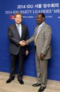 김무성 대표, 탄자니아 민주진보당 대표 접견