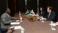 탄자니아 민주진보당 대표 만난 김무성