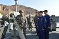 군사 대비 태세 점검하는 황기철 참모총장