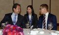 핀란드 총리와 대화 나누는 김무성 대표
