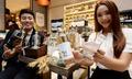신세계백화점, 황금보리 증류소주 선보여