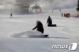 겨울스포츠 꽃 '스키·보드' 안전하게 타는 요령