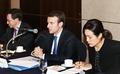 한-불 산업장관 회담 갖는 프랑스 경제산업부 장관