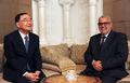 모로코 총리와 환담 나누는 정홍원 총리