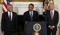 [사진]헤이글 사임 발표하는 오바마
