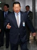 김정행 대한체육회장, 국회 의원회관 항의방문