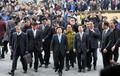 검찰 소환 권선택 시장...뒤따르는 지지자들