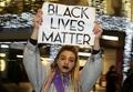 [사진]런던시위 플래카드 '흑인도 사람이다'