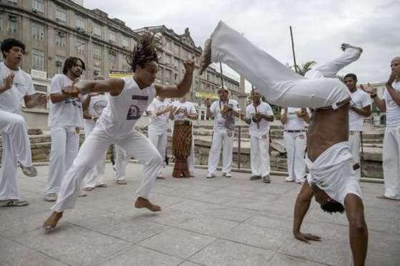 브라질 전통무술 카포에이라