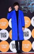이광수, '블루빛 코트로 세련되면서 멋스럽게'