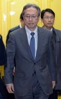 귀가하는 이하라 日 수석대표