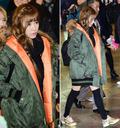 티파니, '소녀의 공항 패션은 예쁜 야상 점퍼'
