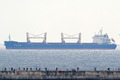 포항에 도착한 남·북·러 합작 물류 사업 1호 화물선