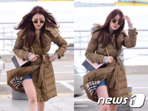 윤은혜, \'인천공항에 뜬 마릴린 먼로~\'