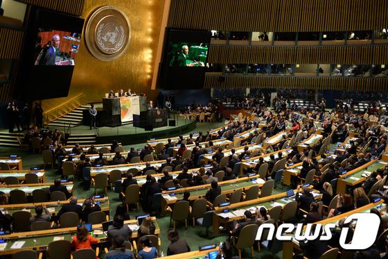 유엔 기후변화협약총회 개막…신기후체제 협상 논의