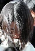 눈물 맺힌 조현아