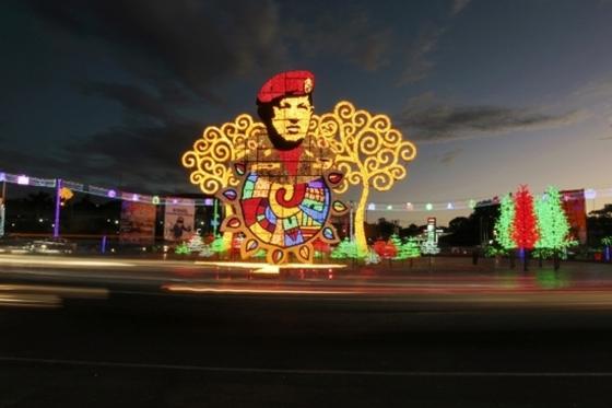 차베스는 니카라과서도 영웅대접