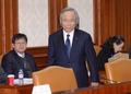 경제관계장관회의 참석한 이주영 해양수산부 장관