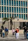 [사진]쿠바 아바나의 미 이해관계사무국