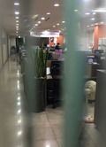 굳게 닫힌 통합진보당 사무실