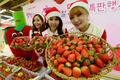 '겨울 과일 딸기가 왔어요'