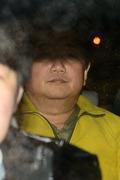 구치소 향하는 박관천 경정