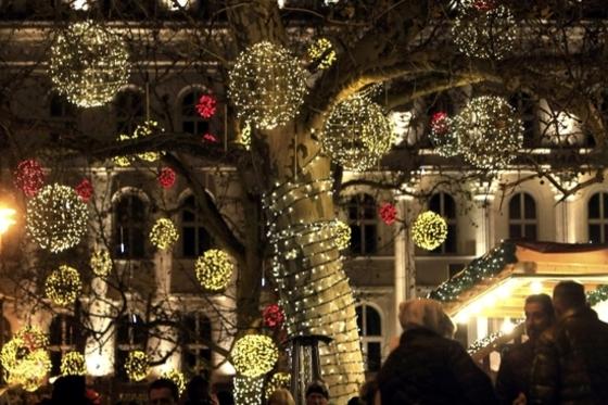 부다페스트의 크리스마스