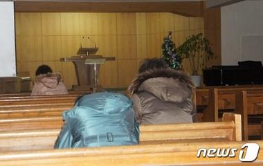 여수제일교회, 실종자 가족을 위한 기도