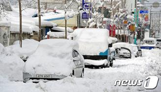전북 서해안 지역 폭설