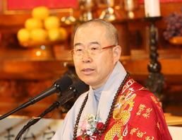 천태종 총무원장 춘광 스님