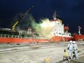 울산항 정박 화물선서 황산-질산 혼합물 누출…20명 구조